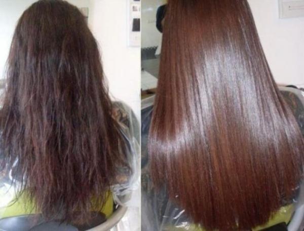 Ламинирование волос желатином и маслами в домашних условиях